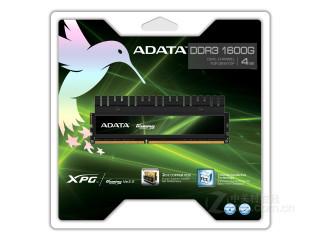 威刚4GB DDR3 1600G V2.0(游戏威龙双通道)