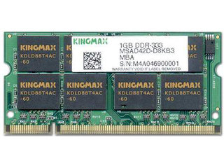 KINGMAX 1GB DDR 333(笔记本)