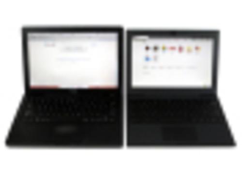 谷歌Chrome Cr-48和苹果黑色Mac酷似双胞胎?