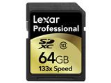 雷克沙SDXC卡 133X Class10(64GB)