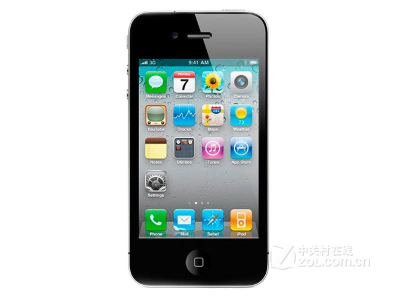 苹果iPhone 4(16GB/C网)整体外观图