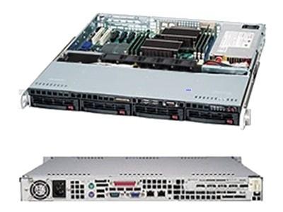 超微 CSE-813MFTQ-520C(短款)