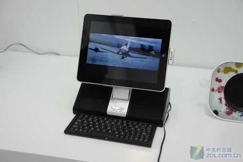 聊微博专用! DOSS iPad键盘音箱亮相