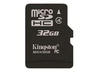 金士顿Micro SDHC卡 Class4(32GB)