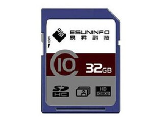 易昇 SDHC卡 Class10(32GB)