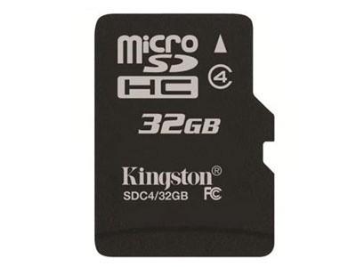 金士顿 Micro SDHC/TF卡 Class4(32GB)