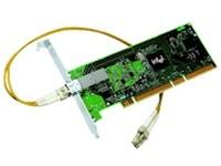 Intel PWLA8490LX千兆PCI单模服务器LC网卡原装
