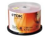 TDK 彩面系列DVD-R 16速 4.7G(50片桶装)