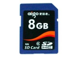 爱国者M6 SDHC卡 Class6(8GB)