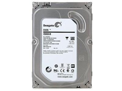 希捷 SV35 2TB SATA3(ST2000VX000)监控级3.5吋硬盘