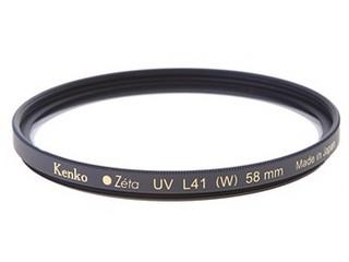 肯高ZETA UV L41 58mm 滤色镜