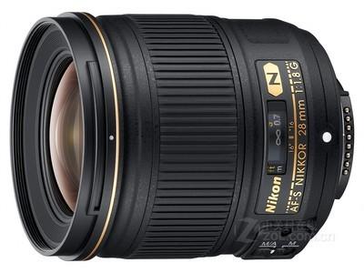 尼康 AF-S 尼克尔 28mm f/1.8G镜头,赠送:价值299元 多层镀膜UV镜,专业清洁套装,