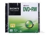 索尼DVD+RW 4速 4.7G(单片盒装)