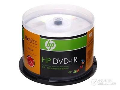 惠普 银面DVD+R 16速 4.7G(50片桶装)