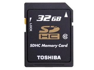 东芝SDHC卡 Class10(32GB)/SD-K32GR7WA