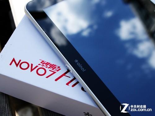 500万相机高分辨率屏 艾诺NOVO7烈焰评测