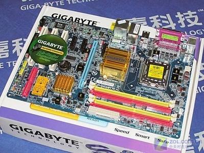 技嘉945P-DS3主板全貌