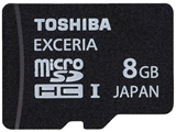 东芝EXCERIA TypeHD型 microSDHC(TF) UHS-1 Class10(8GB)